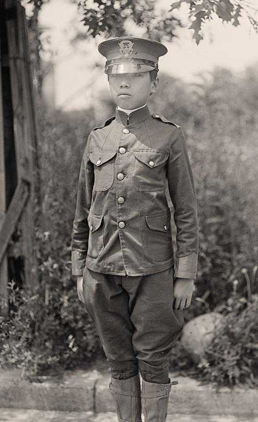 Junior National Guard Lincoln Shab. It was created in 1917