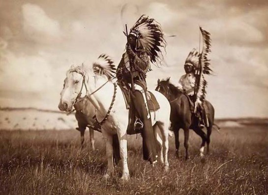 Sioux Chiefs. It was made in 1905