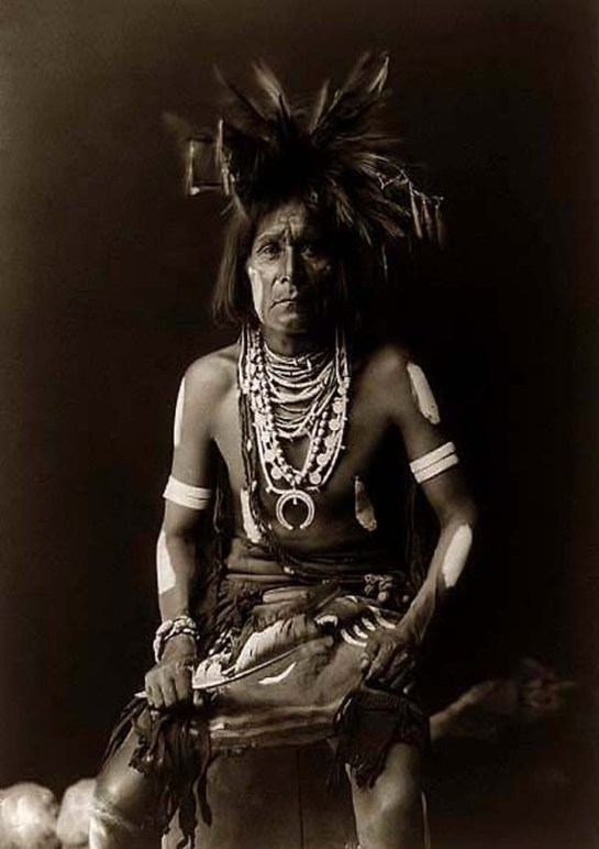 Snake Indian Priest. It was taken in 1900