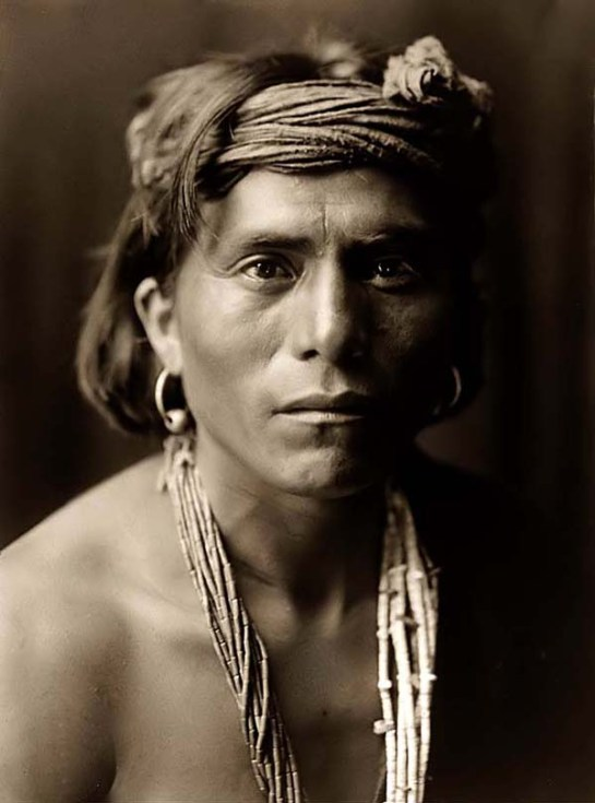 Walapai-IndianNova, a Walapai Man. It was taken in 1906