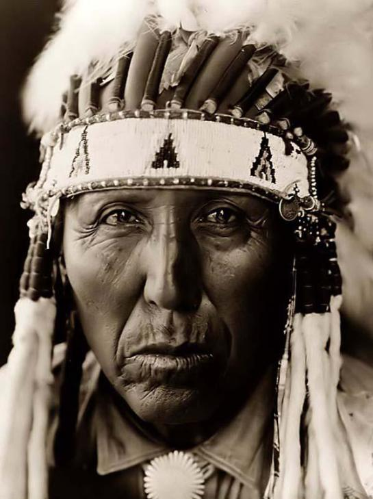 Cheyenne Indian Warrior. It was taken in 1927