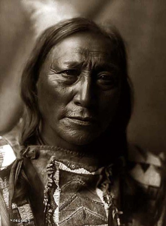Hollow Horn Bear, an Indian Brave. It was created in 1907