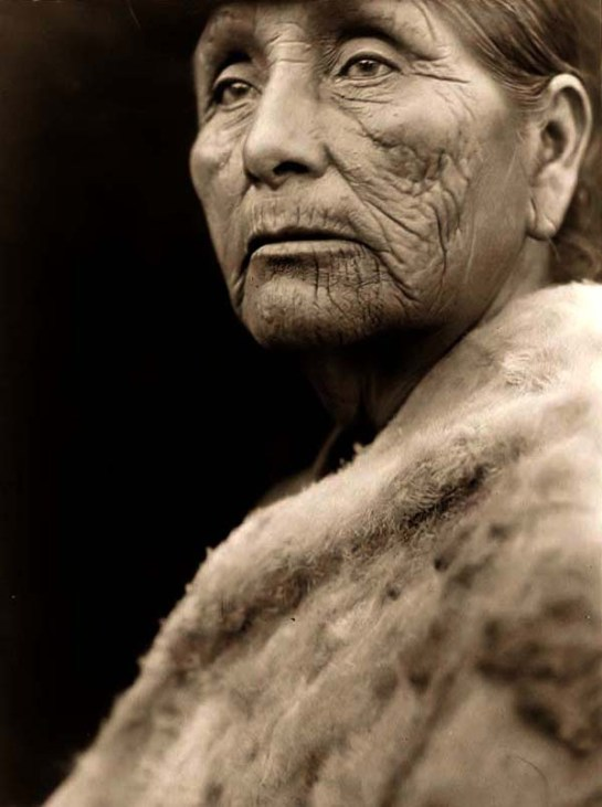 Hupa Indian Woman. It was taken in 1923