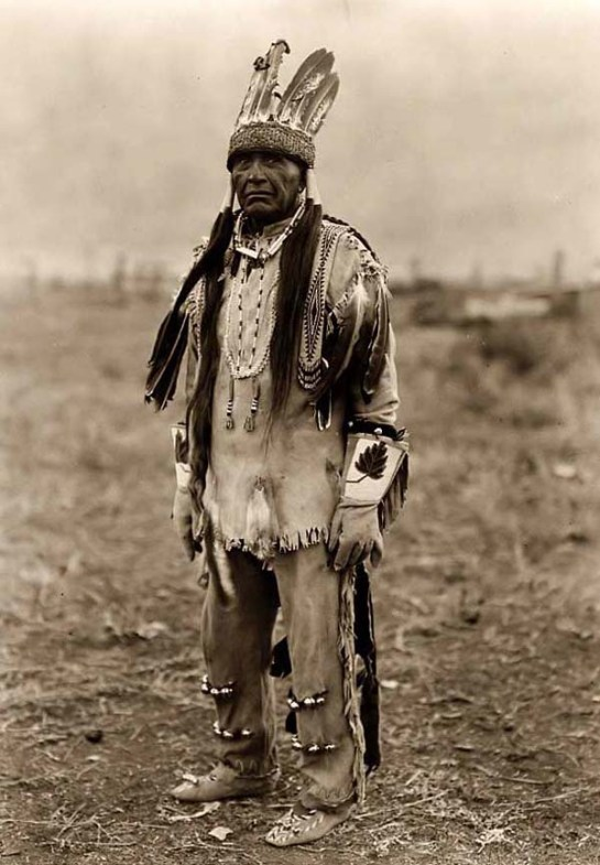 Klamath Indian Warrior. It was made in 1923