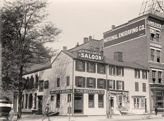 Mullany's Saloon. It was created in 1913