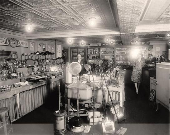 Schneider Electric Store. Interior. It was created between 1905 and 1945