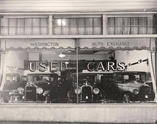 Washington Auto Exchange. It was made between 1905 and 1945