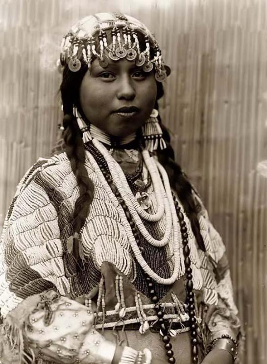 Wishham Indian Bride. It was taken in 1910