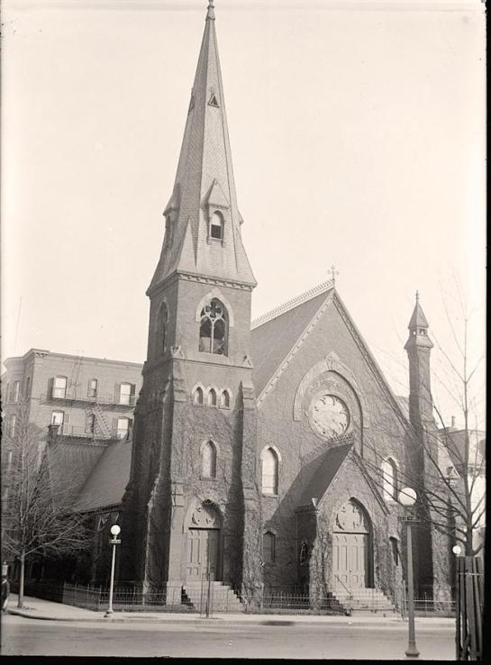 All Soul's Church, Unitarian. 14th and L Streets, N.W. It was taken in 1916