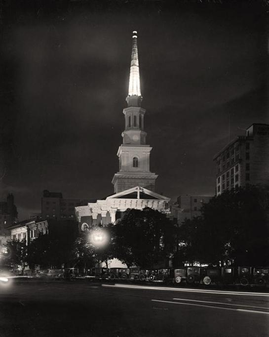 New York Avenue Presbyterian Church. It was taken between 1905 and 1945