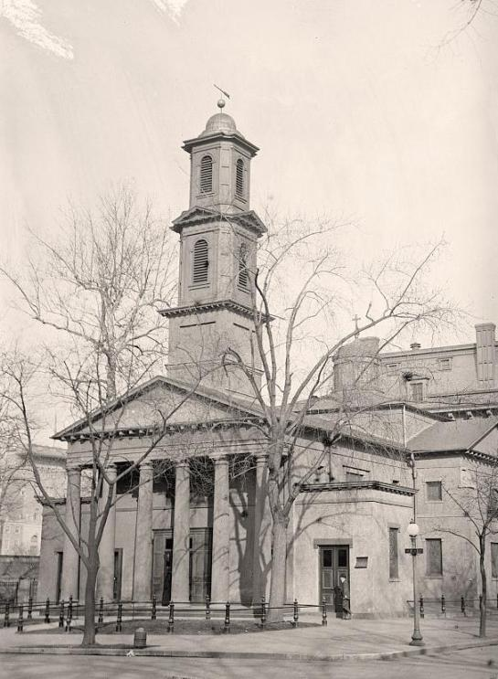 Saint John's P.E. Church. It was created in 1915