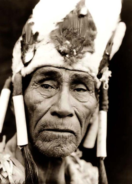 Klamath Indian Head-dress. It was created in 1923