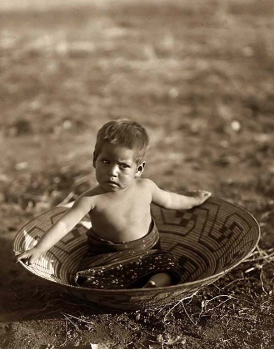 Maricopa Indian Child. It was taken in 1907