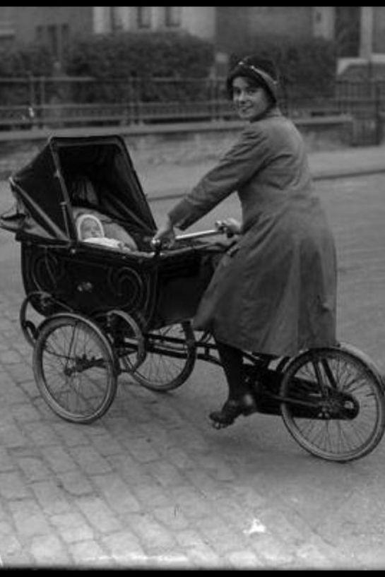 The Bicycle Pram