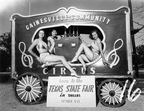 Gainesville TX Circus 1923