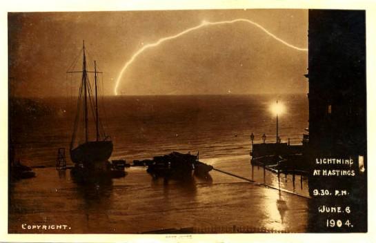 Lightning, June 6 1904, Hastings