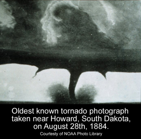 Oldest tornado Photo