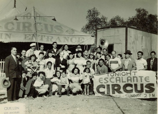 The Escalante Circus - founded 1909