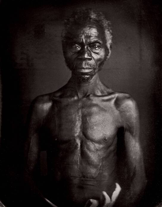 This man, Renty, was an African-born slave owned by B.F. Taylor from Columbia, South Carolina when this portrait was taken in 1850.