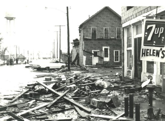 Wapella, IL. tornado may 15th 1968