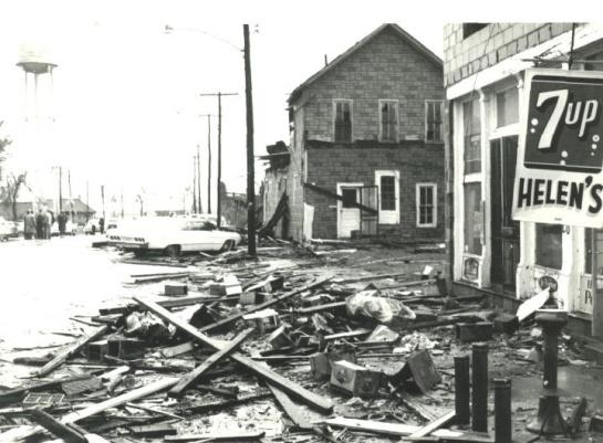 Wapella, IL. tornado may 15th 1968