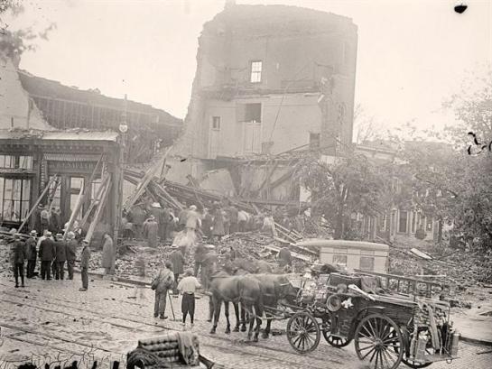 Washington-Storm  It was taken between 1913 and 1918