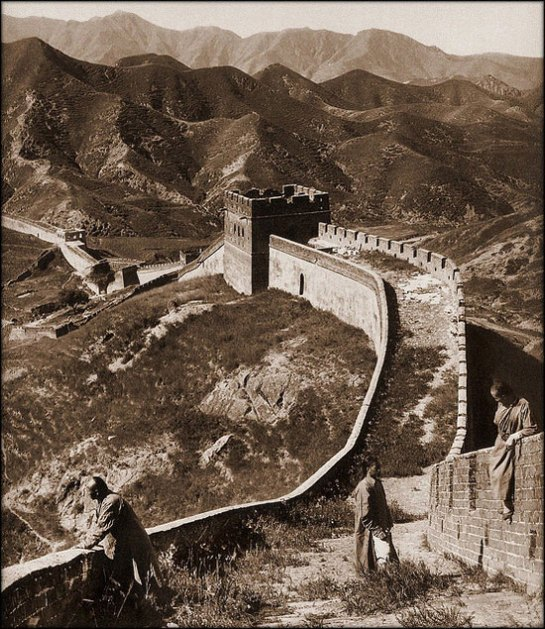 Great Wall of China [1907] Herbert G. Ponting