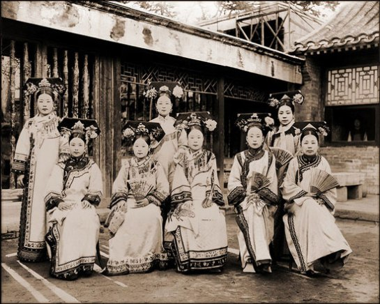 Manchu Ladies Of The Palace [c1910-1925] Frank & Frances Carpenter