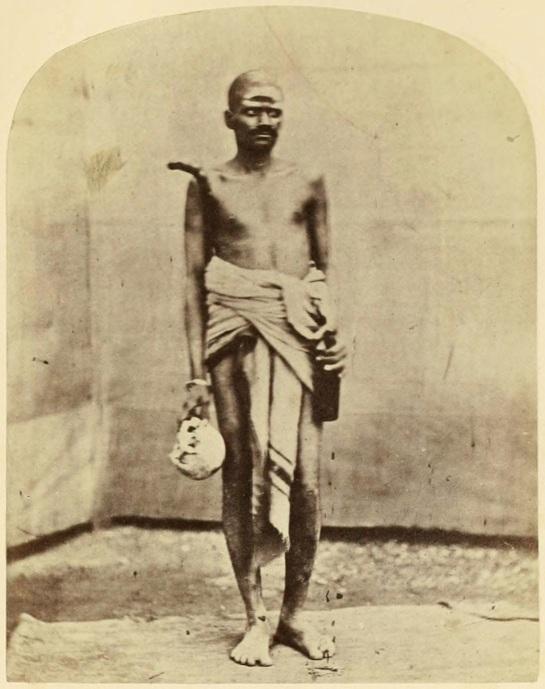 Aghoree,-Hindoo-Mendicant---Benares-(Varanasi)-c1860's