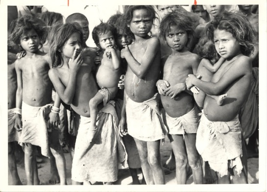 Children in North Bihar, India - May 1951