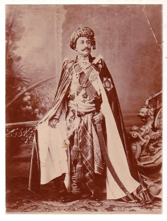 Maharao Shri Khengarji III of Cutch - c1900