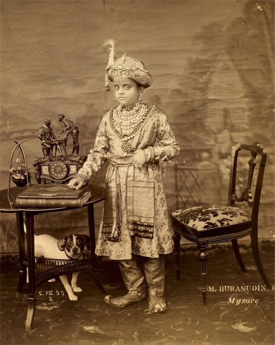 The-Maharaja-of-Mysore-Krishnaraja-Wadiyar-IV---2nd-February-1895